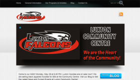Luxton Community Centre Developed and Designed by Simply Social Media Solutions and Tasks Done Daily Virtual Assistant Services